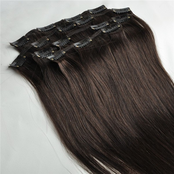 250g 12pcs 7a Salon Thick Clip In Real 100remy Human Hair