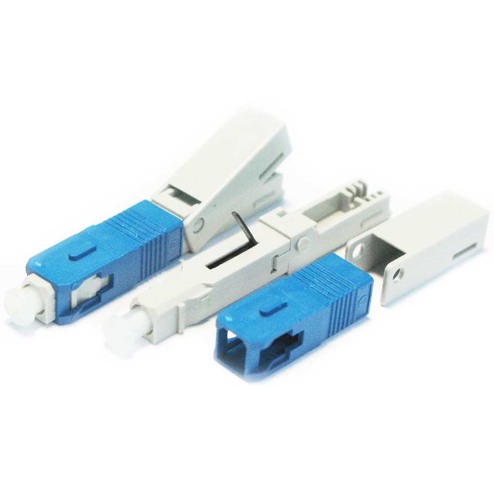 Fast Connector SC/UPC Embedded type for FTTH network, Free tools