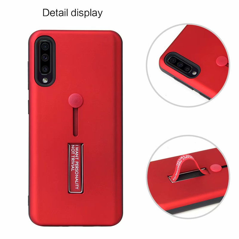 Matte Protective Case For Xiaomi Redmi 7 Note7 Note 7 Pro Fashion Lanyard Stand Back Cover For MI 9 9 SE Shockproof Armor Cases in Fitted Cases from Cellphones Telecommunications