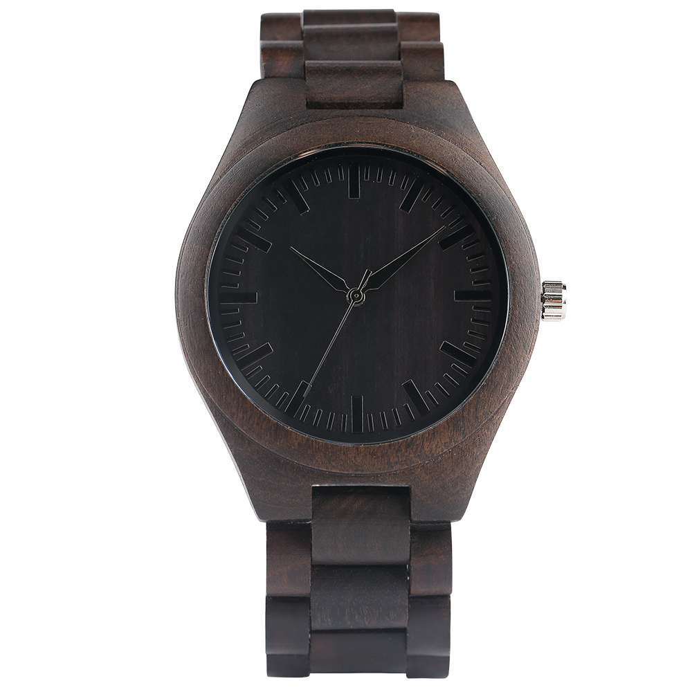 YISUYA Nature Bamboo Wood Creative Watches Men Casual Sport Wooden Quartz Wrist Watch Men Women Flod Clasp Band Bangle Clock  (1)