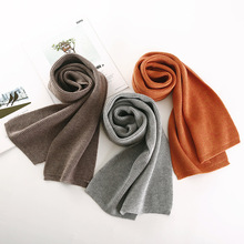 2018 NEW arrived men scarf knit spring Unisex Thick Warm win