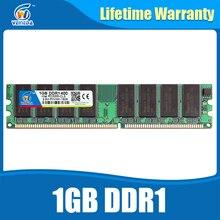Фирменная Новинка DDR1 1 ГБ оперативной памяти ddr 400 PC3200 DDR400 для AMD INTEL плата совместима DDR 333 PC2700 пожизненная Гарантия