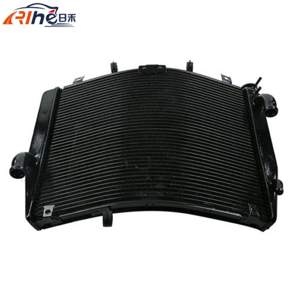 new style motorcycle radiator cooler aluminum motorbike radiator black For Kawasaki ZG1400 GTR1400 2008 2009 2010 2011 2012 gefu 21880 gefu