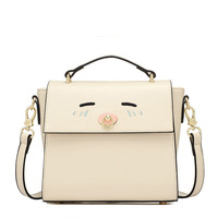 2016 women candy color handbag vintage fashion one shoulder small bag PU Leather bags women messenger bag SS0163