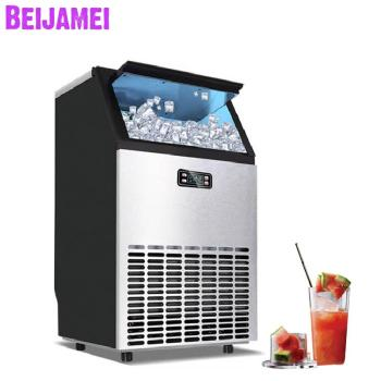 Machines à Glaçons | BEIJAMEI 2019 Nouveau Portable Automatique Machine à Glaçons Machine Commerciale Industrielle Carrée Bloc De Glace Faisant La Machine