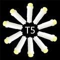 10 шт./лот T5 0.2 Вт 1 SMD Сид Керамические Авто Сторона Клин Gauge Dashboard Приборов Загорается Лампа 12В