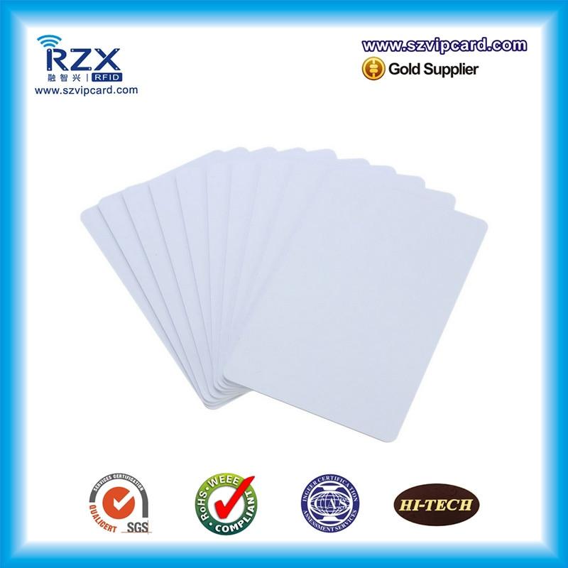 Hot Promotion TK4100 chip PVC blank rfid card 125Khz inkjet smart card for Canon 200PCS