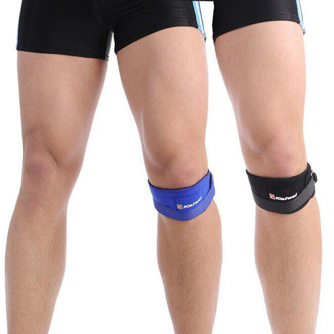 New Universal Adjustable Sports Gym Patella Tendon Kneepads Support Wrap Strap Protector Sport Tool Sport Knee Pads Belt
