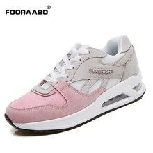 FOORAABO 2017 Neue Modemarke Frauen Schuhe Breathable frauen Freizeitschuhe Sommer Mädchen Klassische Tenis Walking Zapatos Mujer
