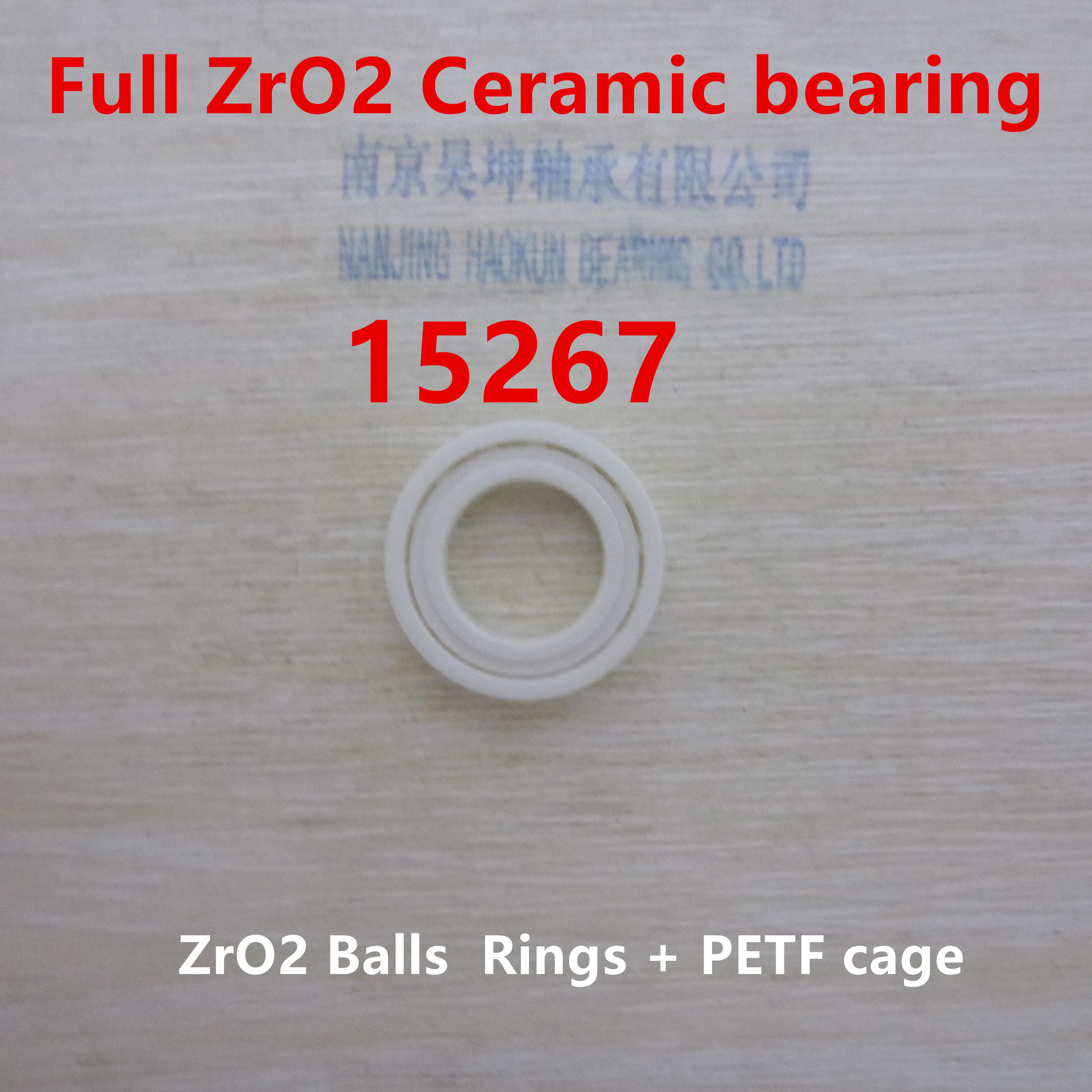 Ceramic wheel hub bearing zro2 15267 15*26*7mm 15267 full zro2 ceramic bearing rear wheel hub for mazda 3 bk 2003 2008 bbm2 26 15xa bbm2 26 15xb bp4k 26 15xa bp4k 26 15xb bp4k 26 15xc bp4k 26 15xd