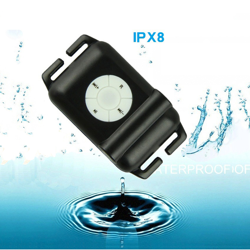 New 4G 8GB IPX8 Diving Swimming MP3 Waterproof Player Earphone Underwater Surf Sports Swim Mini Headset FM Radio Cap Glasses