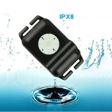 Novedad en auriculares MP3 4G 8GB IPX8 para buceo, natación, resistente al agua, deportes de buceo, natación, Mini auricular con Radio FM, gorro y lentes