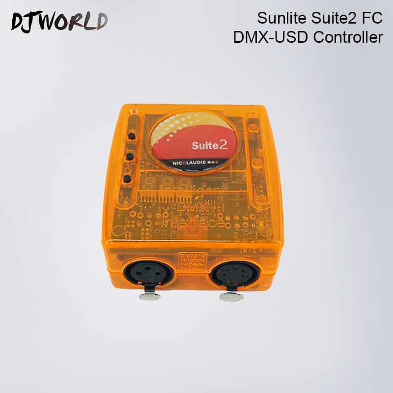 где купить Satg controlling software Sunlite Suite2 FC DMX Controller DJ equipment Channel wireless LED Par Moving Head Spotlights DJ по лучшей цене