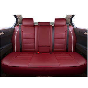 Image 3 - Carnong custom car seat cover leather same structure and size with original car seat  protector vehicle pickup auto seat covers