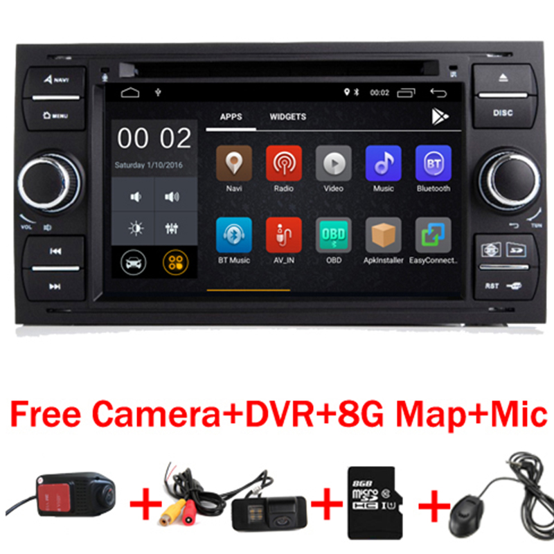 7IPS Touch Screen Android 9.0 Car DVD Player For Ford Focus Transit Kuga Wifi Wifi 3G GPS Radio Steering wheel Free Camera+DVR7IPS Touch Screen Android 9.0 Car DVD Player For Ford Focus Transit Kuga Wifi Wifi 3G GPS Radio Steering wheel Free Camera+DVR