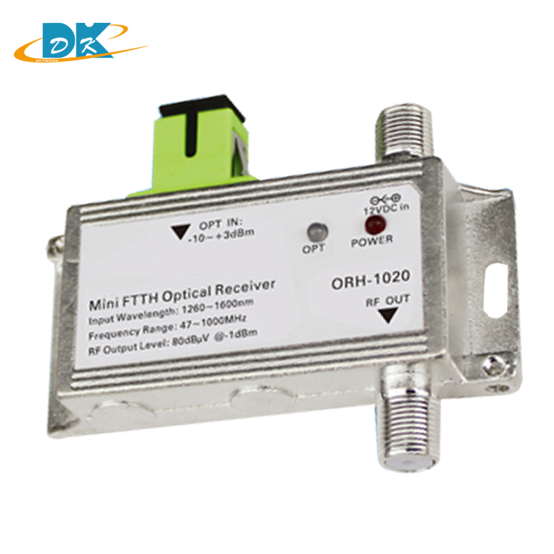 CATV FTTH Optical node / Receiver 1310nm and active receiver AGC Model ORH-1020 47-1000MHz, AGC but no  WDMCATV FTTH Optical node / Receiver 1310nm and active receiver AGC Model ORH-1020 47-1000MHz, AGC but no  WDM