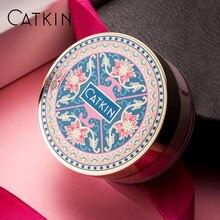 CATKIN Eternal Love 5,2 г * 3 трио-цвет Лотос рассыпчатая пудра корректирующая тон кожи Очищающая основа для макияжа баланс кожи масло увлажнение