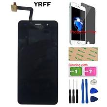 5 écran tactile daffichage à cristaux liquides pour Fly Cirrus 13 FS 518 FS518 écran tactile avant verre numériseur outils Film de protection