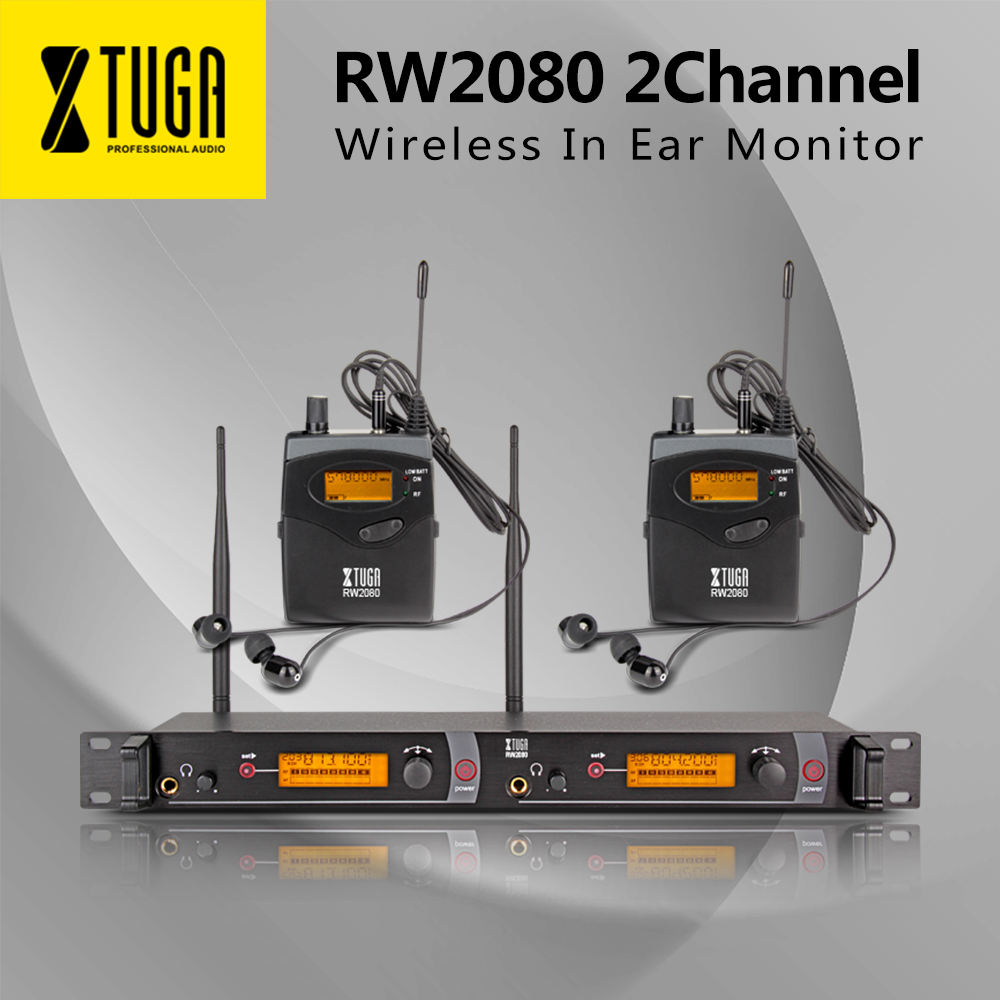 Top Quality!! Rocket Audio RW2080  In Ear Monitor System 2 Channel 2 Bodypack  Monitoring with in earphone wireless SR2050 Type!Top Quality!! Rocket Audio RW2080  In Ear Monitor System 2 Channel 2 Bodypack  Monitoring with in earphone wireless SR2050 Type!