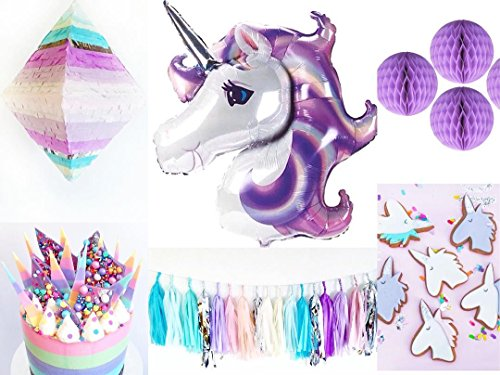1 Pack 44inch Huge Unicorn balloons For Birthday Party Decorations Baby shower 1st Party supplies decoration anniversaire balony