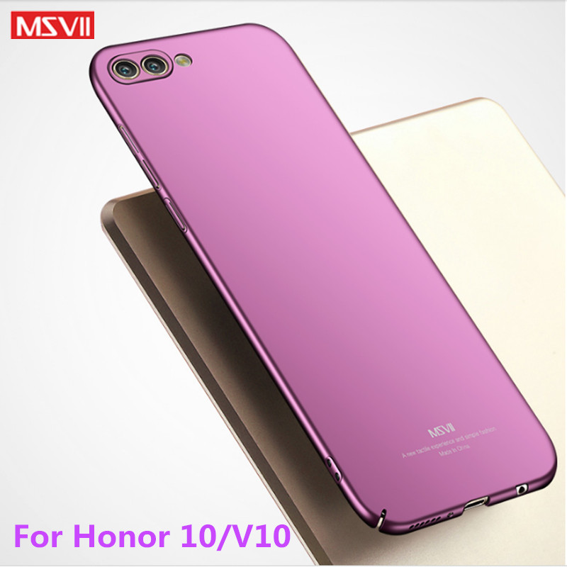 huawei honor 10 lite case MSVII 360 Full Protection case For Honor View 10 phone case Ultra Slim pc hard Back Cover Honor 10