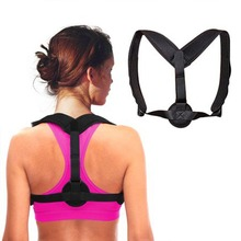 Adjustable Back Brace Upper Pain Relief  Posture Corrector Body Shaper Shoulder Support Belt for Adult Kids School & Office
