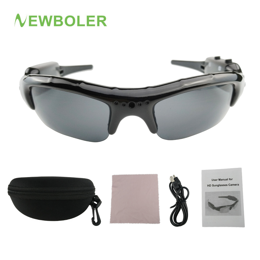 41f9d94145 NEWBOLER Cycling Eyewear Sports Camcorder Digital Video Recorder Mobile  Glasses Bike Bicycle Sunglasses Outdoor Hiking Glasses-in Cycling Eyewear  from ...