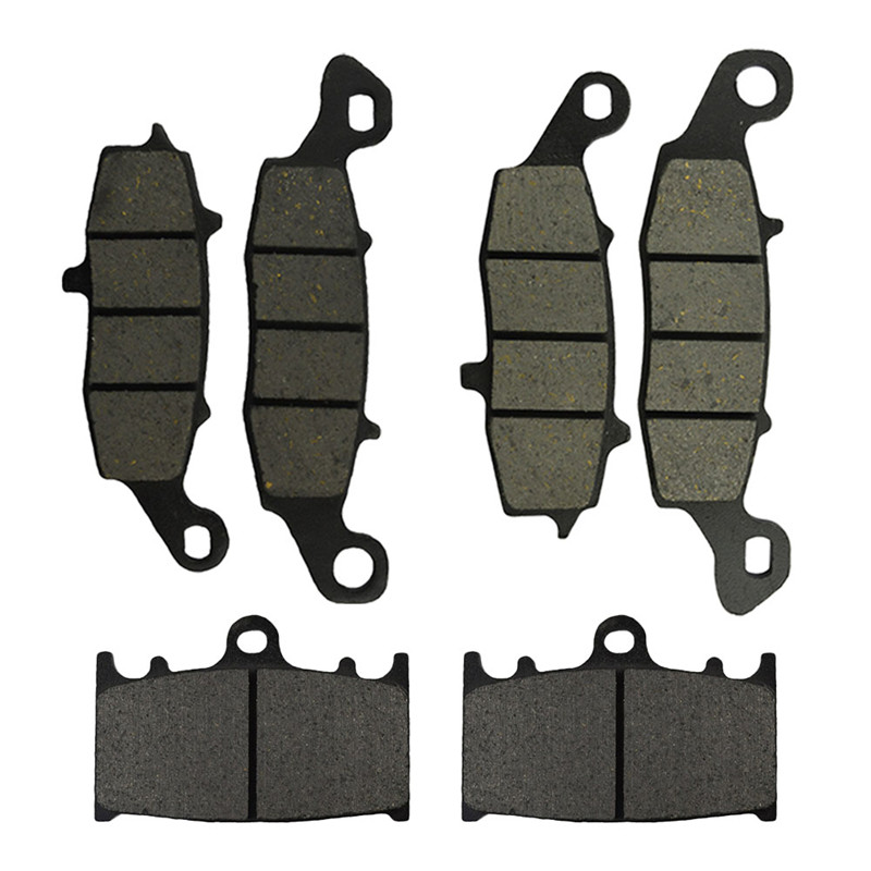 Motorcycle Front and Rear Brake Pads for <font><b>SUZUKI</b></font> VL 1500 <font><b>Intruder</b></font> LC 2002-2004 / <font><b>VL1500</b></font> <font><b>Intruder</b></font> C 2005-2009 image