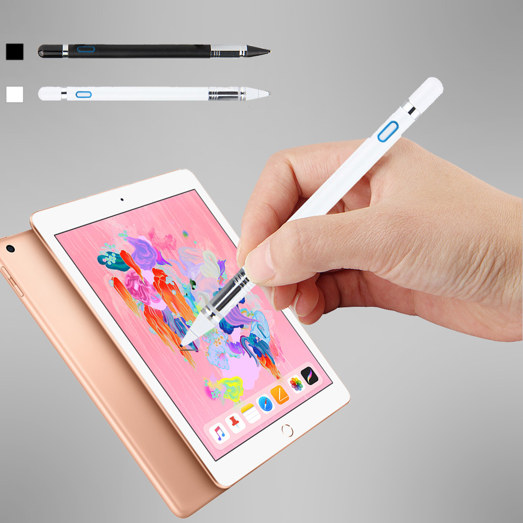 Rechargeable Active Stylus High Precision Drawing Touch Pen Digital Pencil for Apple iPad 2018 9.7 Pro 11 12.9Rechargeable Active Stylus High Precision Drawing Touch Pen Digital Pencil for Apple iPad 2018 9.7 Pro 11 12.9