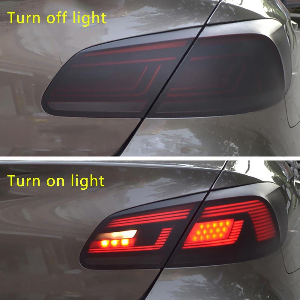 Image 4 - Car Styling 30*150cm Matt Smoke Light Film Car Matte Black Tint Headlight Taillight Fog Light Vinyl Film Rear Lamp Tinting Film-in Car Stickers from Automobiles & Motorcycles