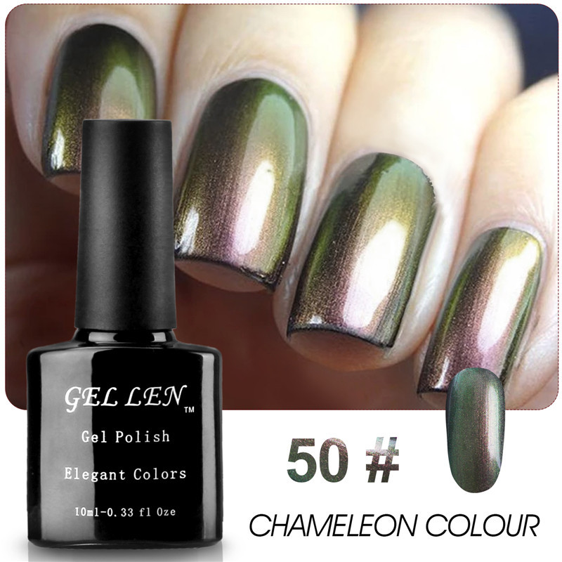 Gel Nail Polish Sale: Gel Len Elegant Chameleon Nail Art Gel Polish Hot Sale