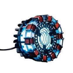 Marvel Мстители Железный человек дуговой реактор DIY без витрины сплав реактор сборка модель подарок