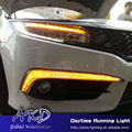 One-Stop Shopping para Nissan Sentra LED DRL 2015-2016 Daytime Running Luz para Novo sentra Lâmpada Automotiva acessórios