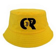 CR7 Letter fisherman hat harajuku Men Women juventus cap RONALDO Caps Fans bucket  hats d9f96473912