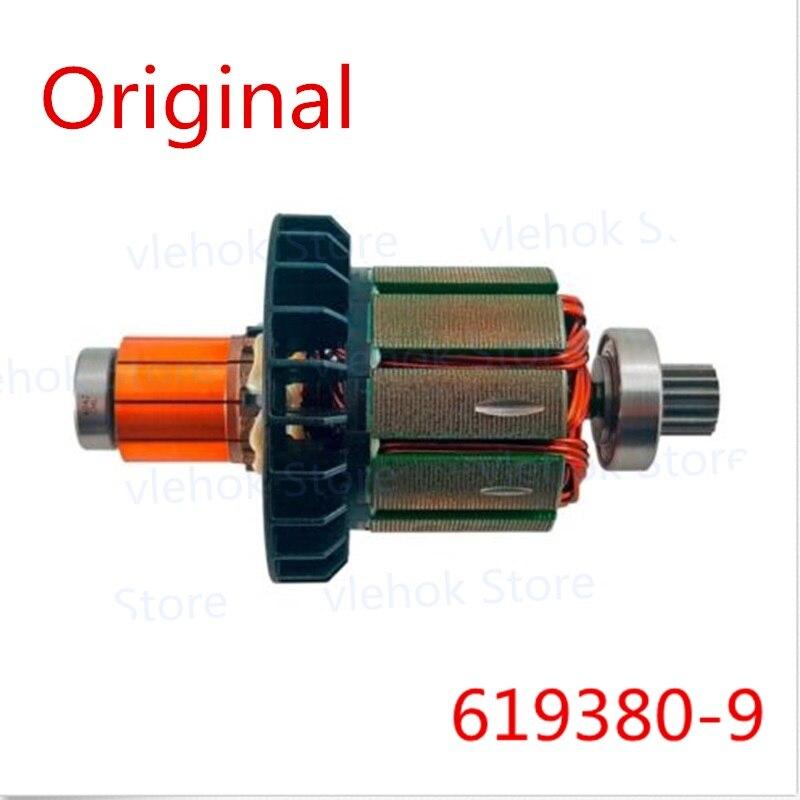Genuine Armature Rotor For Makita DHP482 BHP482 DDF482 XPH10 DF482D DHP482RME DHP482RAE DHP482RFE DDF482RFE DHP482Z 619380-9