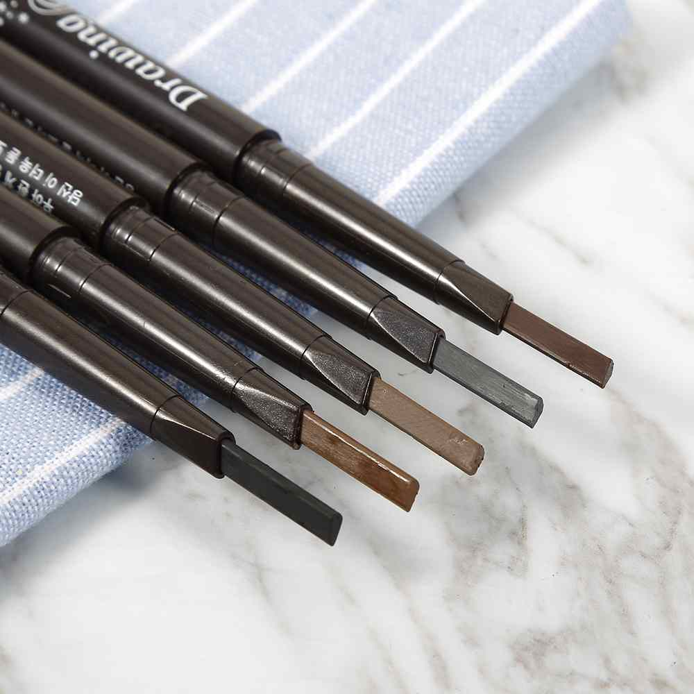 New 5 Colors Eyeliner Eye Brow Pencil with Brush 1