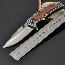 Folding Knife D2 Steel Outdoor Camping Hunting Pocket Kitchen Knives EDC Tools Knives Hunting Knife Survival