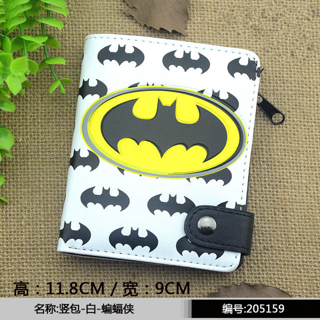 Marvel Captain America Batman Ironman Wallet Tokyo Ghou Men's Wallets Superman Men Money Clips Totoro Ladies Purse  Pouch Girl's Shoes
