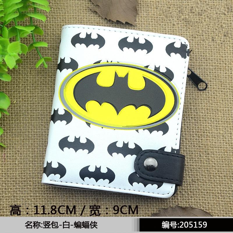 Marvel Captain America Batman Ironman Wallet Tokyo Ghou Men s Wallets Superman Men font b Money