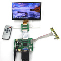 HDMI VGA 2AV LCD Controller Driver Board + 7inch IPS EJ070NA-01 1024x600 1024*600 LCD Display + Adapter cable 50 PIN to 40PIN