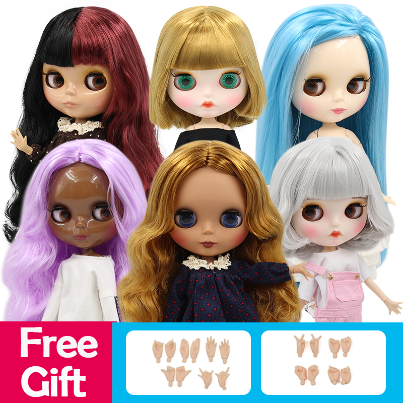 ICY 1/6 bjd factory blyth doll normal/joint body special offer lower price DIY girl gift, naked doll 30cm(China)