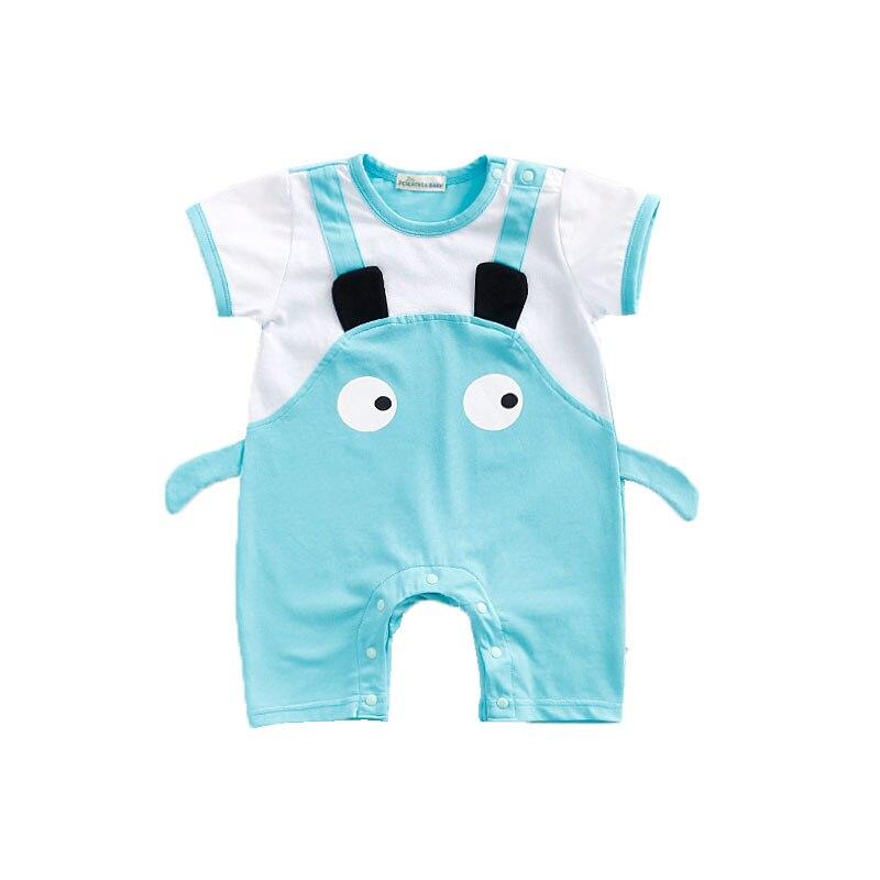 Newborn Baby Romper Bebes Boys Girls Ear Big Eyes Rompes New Born Jumpsuit Baby Boy Girl Brand Clothes Fashion Cute Clothing
