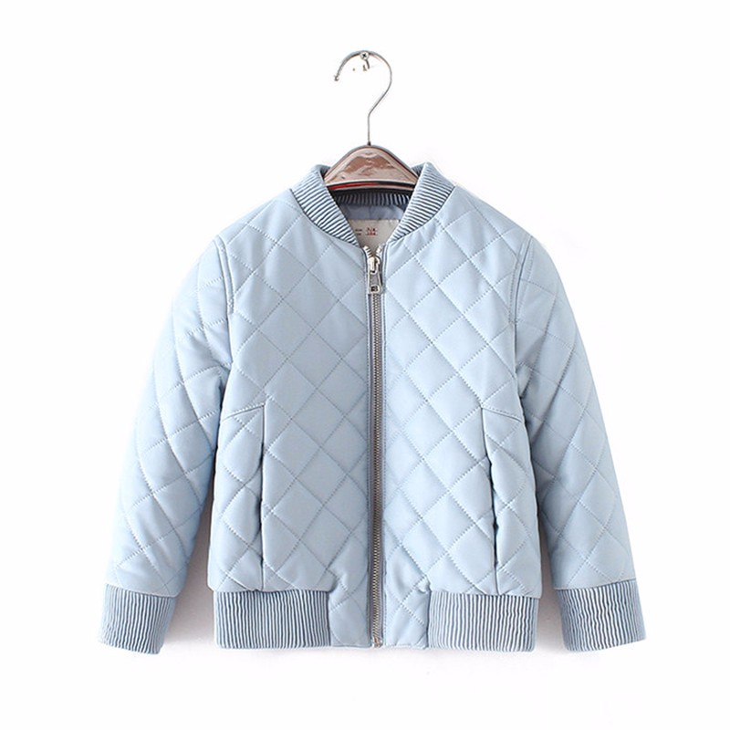 Kids Jacket 2017 Autumn Fashion Brand Design Casual Pu Leather Jackets For Girls Clothes Boys Outwear