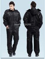 겨울 작업 의류 두꺼워 따뜻한 방풍 죄수 복 자동차 세탁기 유니폼 겨울 낚시