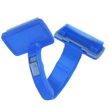 IDEPET Pet Dog Remove Hair Brush Comb Clean Shedding Dog Hair Trimmer Attachment Brush