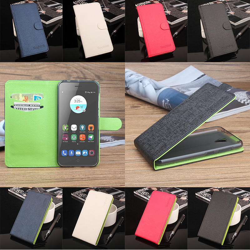 5.0inch Luxuxy Green Bottom Original For ZTE A520 Phone Cases PU Leather Case Flip Case For ZTE Blade A520 Case For ZTE520 Cover