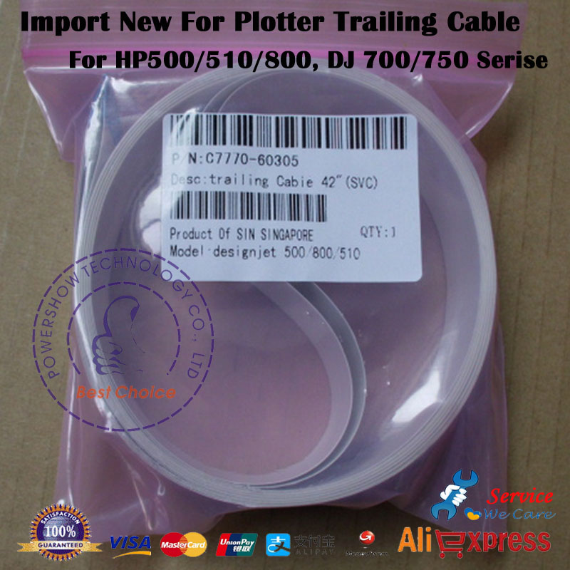 10X Import New Trailing cable 24inch 42inch C7770 60258 C7770 60274 C7770 60267 C7769 60305 For