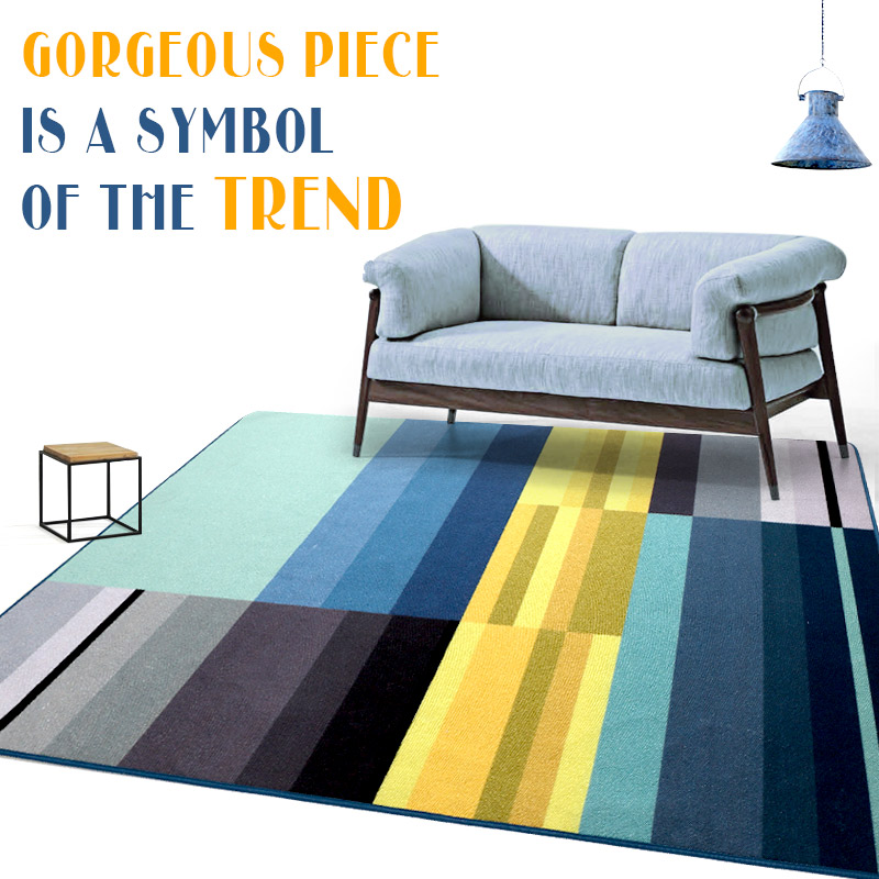 140X200cm Rectangle Big Rug Anti-Skid Home Decoration Supplies Carpet And Floor Rugs Carpets For Living Room Bedroom Tarpet