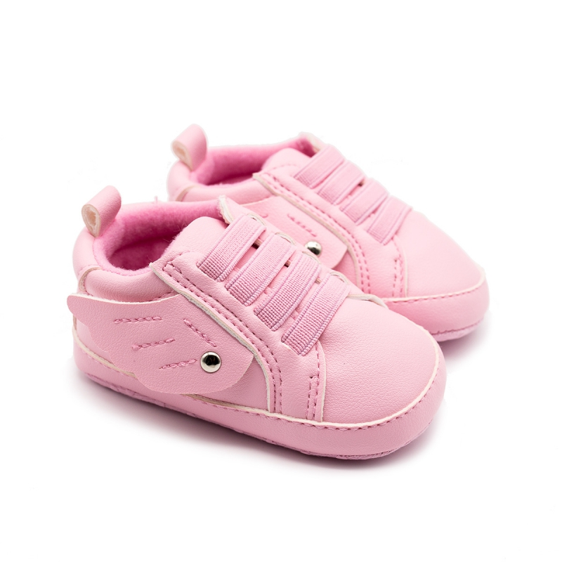 Baby Shoes Classic Sports Sneakers Newborn Baby Boys Girls First Walkers Toddler Soft Sole Anti-slip Baby Girl Shoes Wing #06