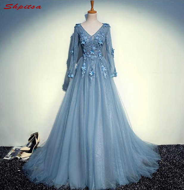 Long Sleeve Lace Mother of the Bride Dresses Gowns for Weddings ...